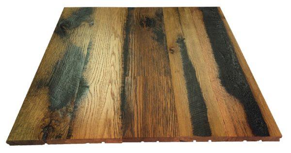 Skip Planed Fence Oak Flooring