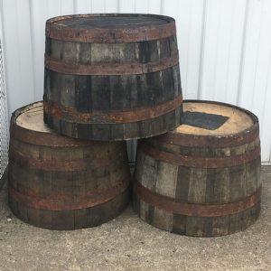 Wooden Barrels 2